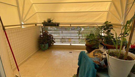 מרקיזה אלומיניום למרפסת