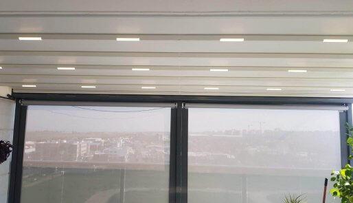 פרגולות חשמליות למרפסת דגם 2021
